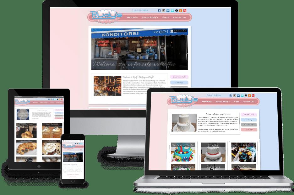 Rudys Webdesign Mockup